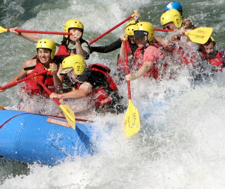 Orange River Rafting_River rafting on the Orange river in south africa