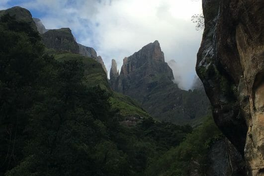 Drakensberg Amphitheatre slackpacking adventure tour_7