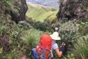 Hiking tours Drakensberg Cathedral peak_2