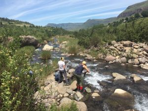 Hiking tours Drakensberg Cathedral peak_4