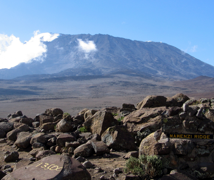 Rongai Route mount Kilimanjaro trek adventure tour