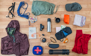 TRekking equipment for the Drakensberg
