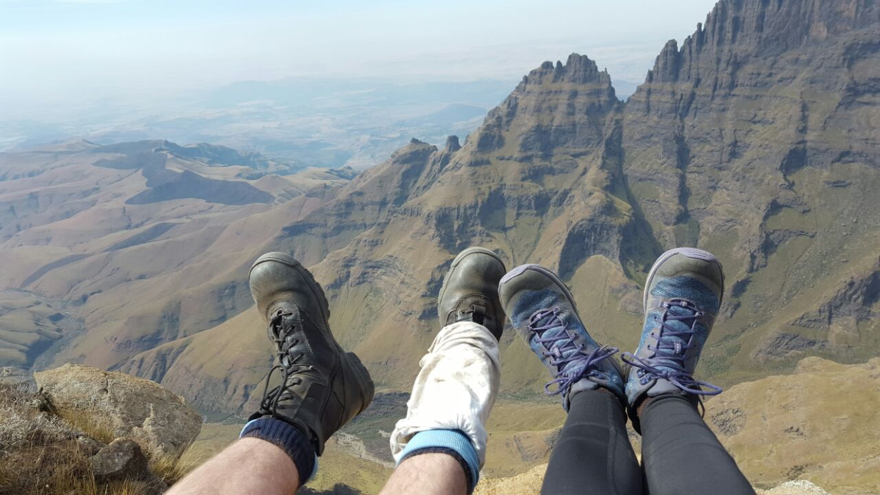 Guided 3 day Champagne Castle Drakensberg Hike