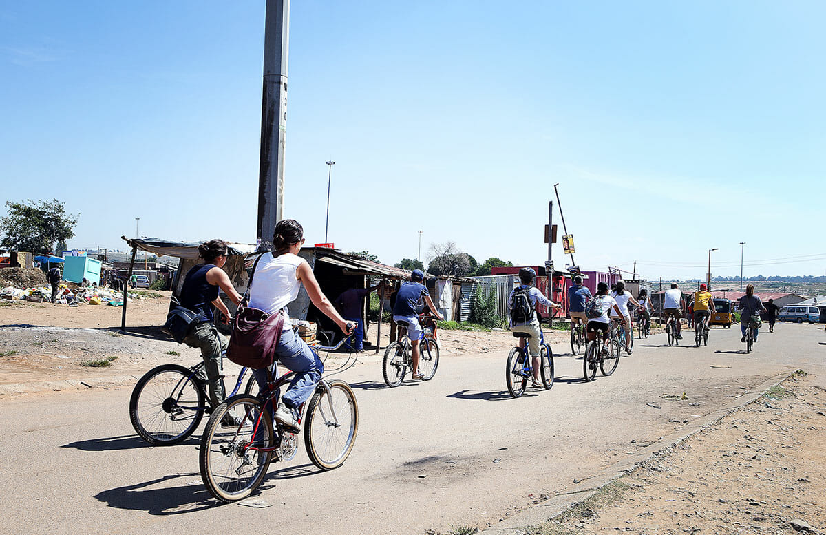 6 hour Soweto bicycle tour