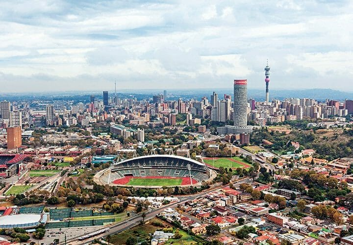 10 hours in Johannesburg